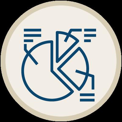 Plattform Getrennt geführtes Portfolio icon