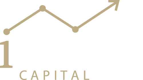 iMaps Capital Logo Gold Weiß